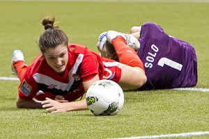 The USWNT already played on one of the 2015 Women's World Cup turf sites (BC Place in Vancouver), during CONCACAF Olympic qualifying in 2012.