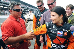 Danica's career skyrocketed when she finished fourth in the 2005 Indy 500 as a rookie, and her parents stepped in to help manage things. In 2009, she did one better, finishing third.