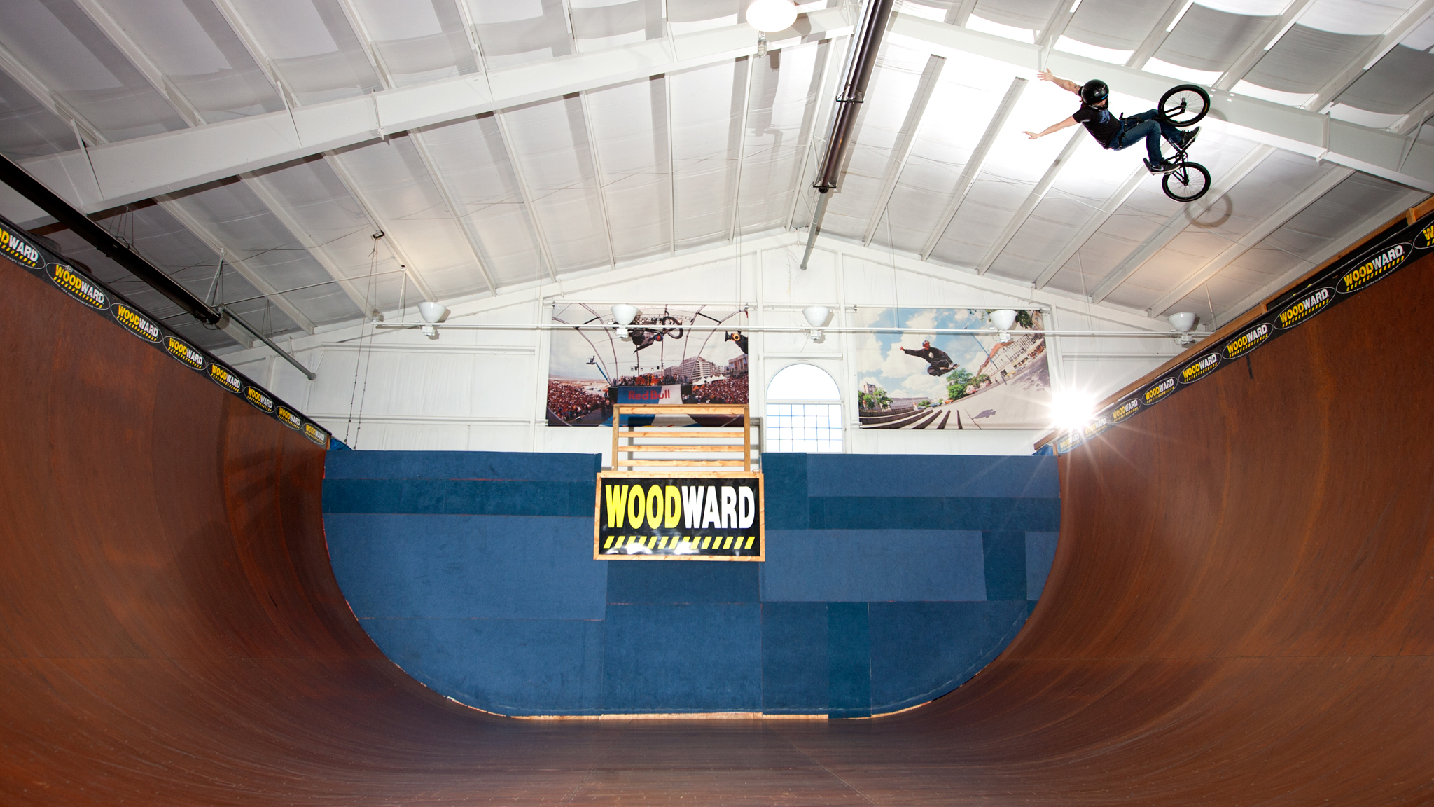 No-hander, Woodward Camp, 2012