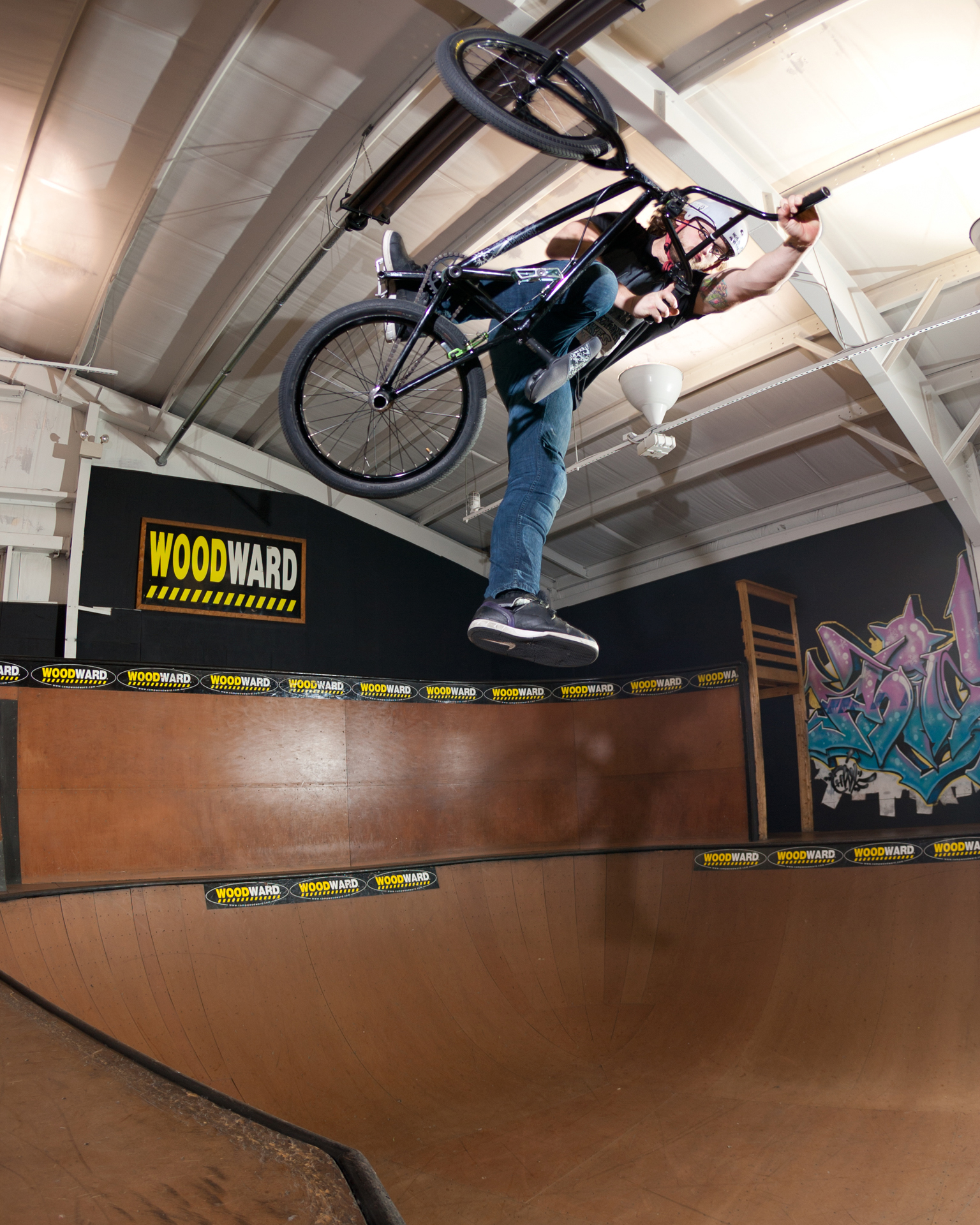 One-footed invert, Woodward Camp, 2012