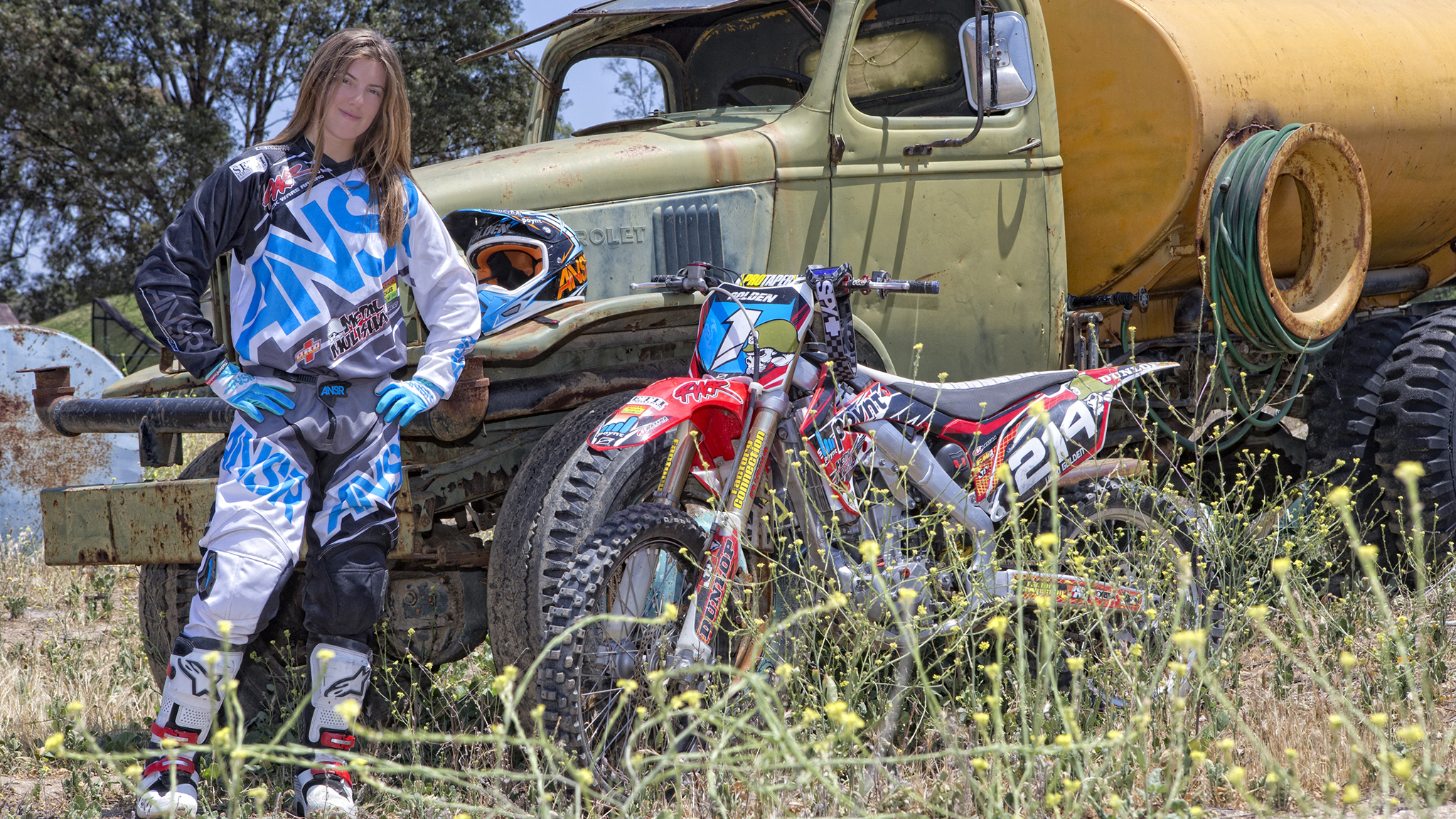 Vicki Golden joined the Metal Mulisha team this week, becoming the first female team rider in the brand's history.