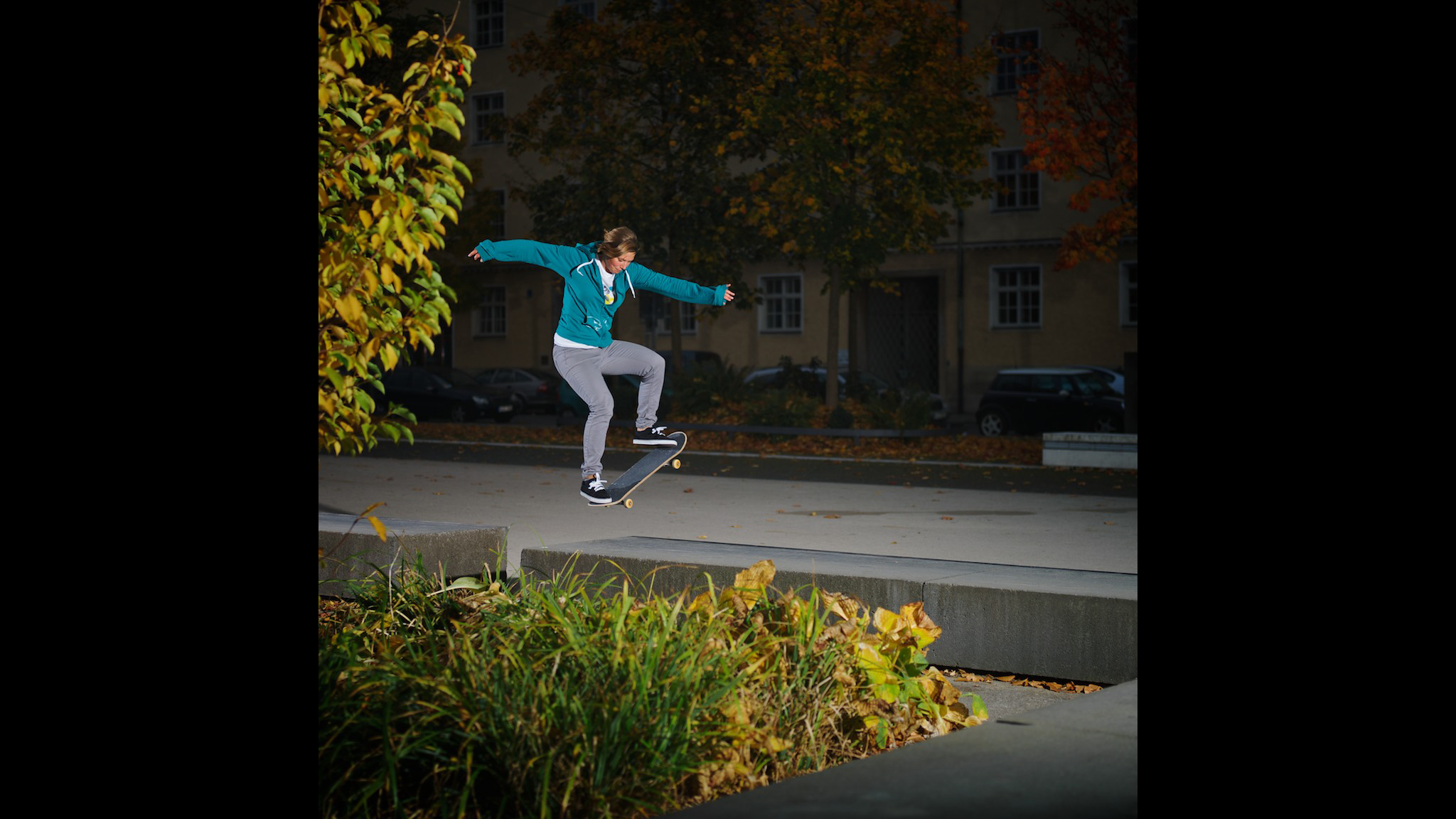 Lea Schairer, gap to tailslide