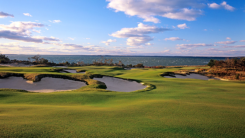 The most prestigious of women's golf tournaments played on such a scenic course makes for a great showcase for TV.