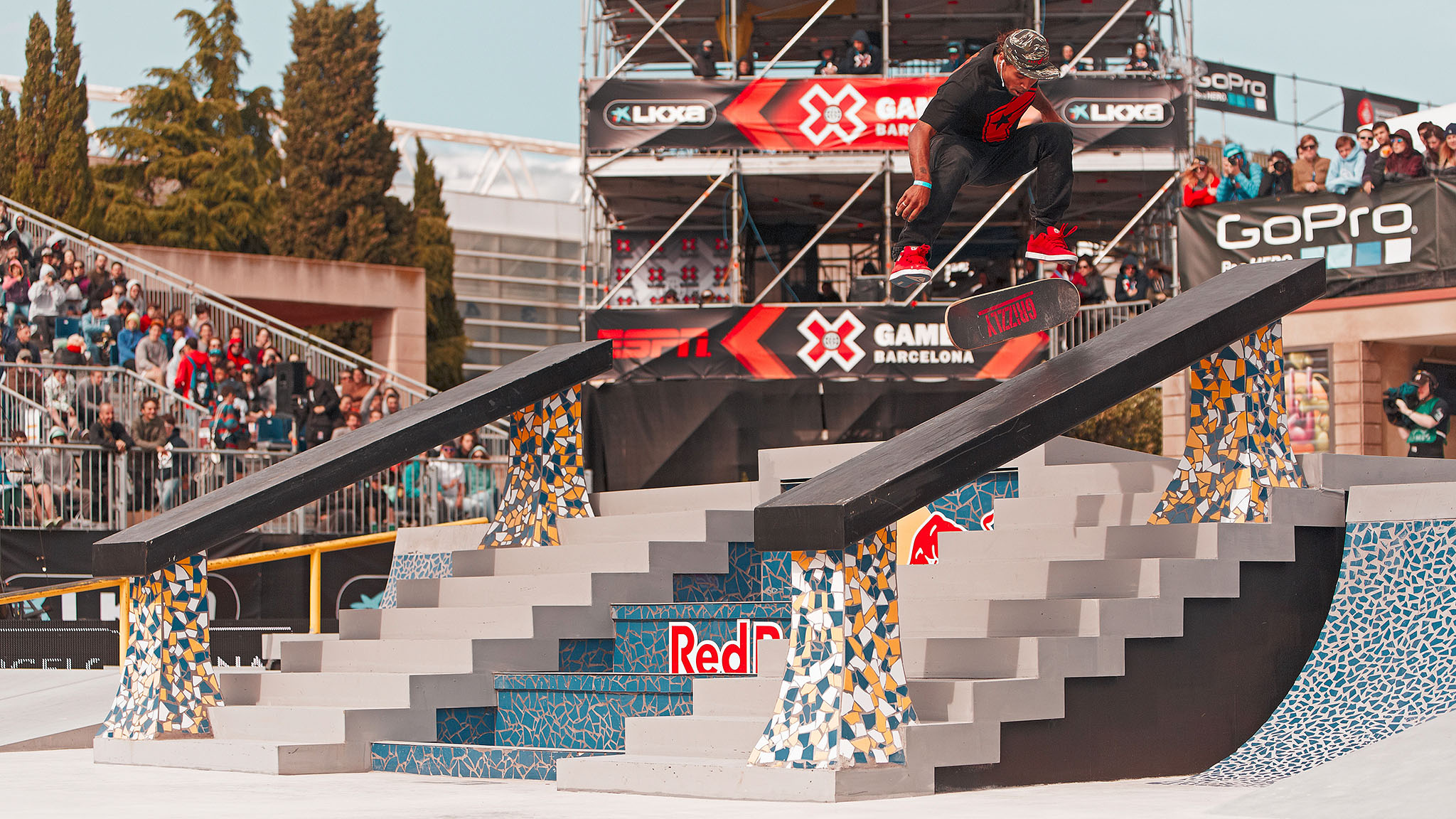 Manny Santiago has won the past two SLS events, earning himself an entry into the Street League at X Games events the past two X Games. Can he do it again on Thursday?