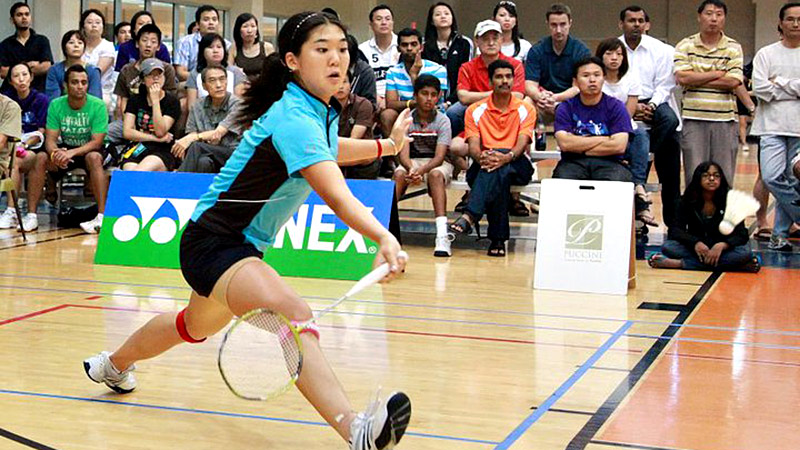 Bo Rong's badminton career found a new lease after she arrived in the U.S., where the level of competition isn't nearly as strong as in her homeland of China. She's hoping to earn U.S. citizenship in time to compete in Rio.