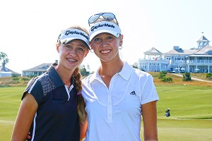 Nelly and Jessica Korda