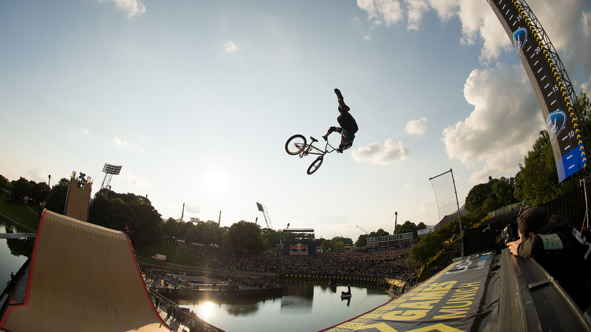 In Munich, Chad Kagy earned his third X Games gold medal in BMX Big Air.