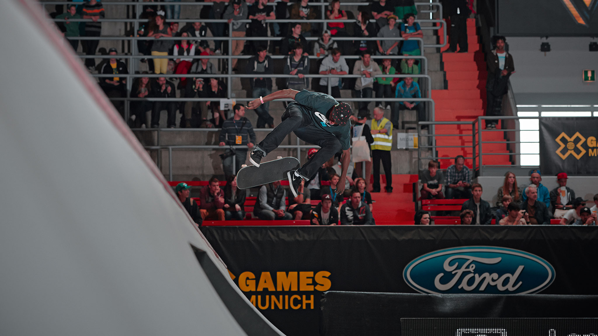 Ishod Wair skated the course with reckless abandon and qualified for Sunday's Street League at X Games finals. Wair joined Street League in 2012, and until this weekend in Munich, he had never qualified for a final event.