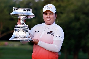 No. 2, LPGA Championship, June 9: After struggling down the stretch in regulation, Inbee Park beat Catriona Matthew on the third playoff hole.