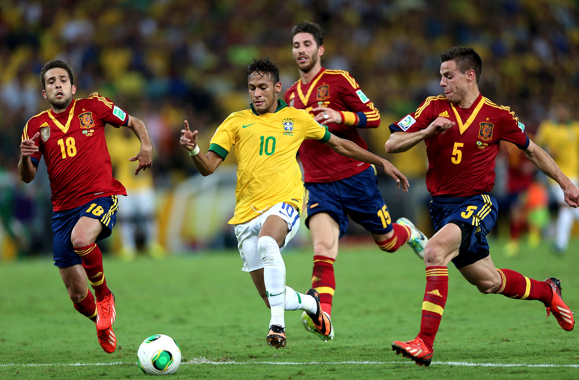 In Pursuit Of Neymar