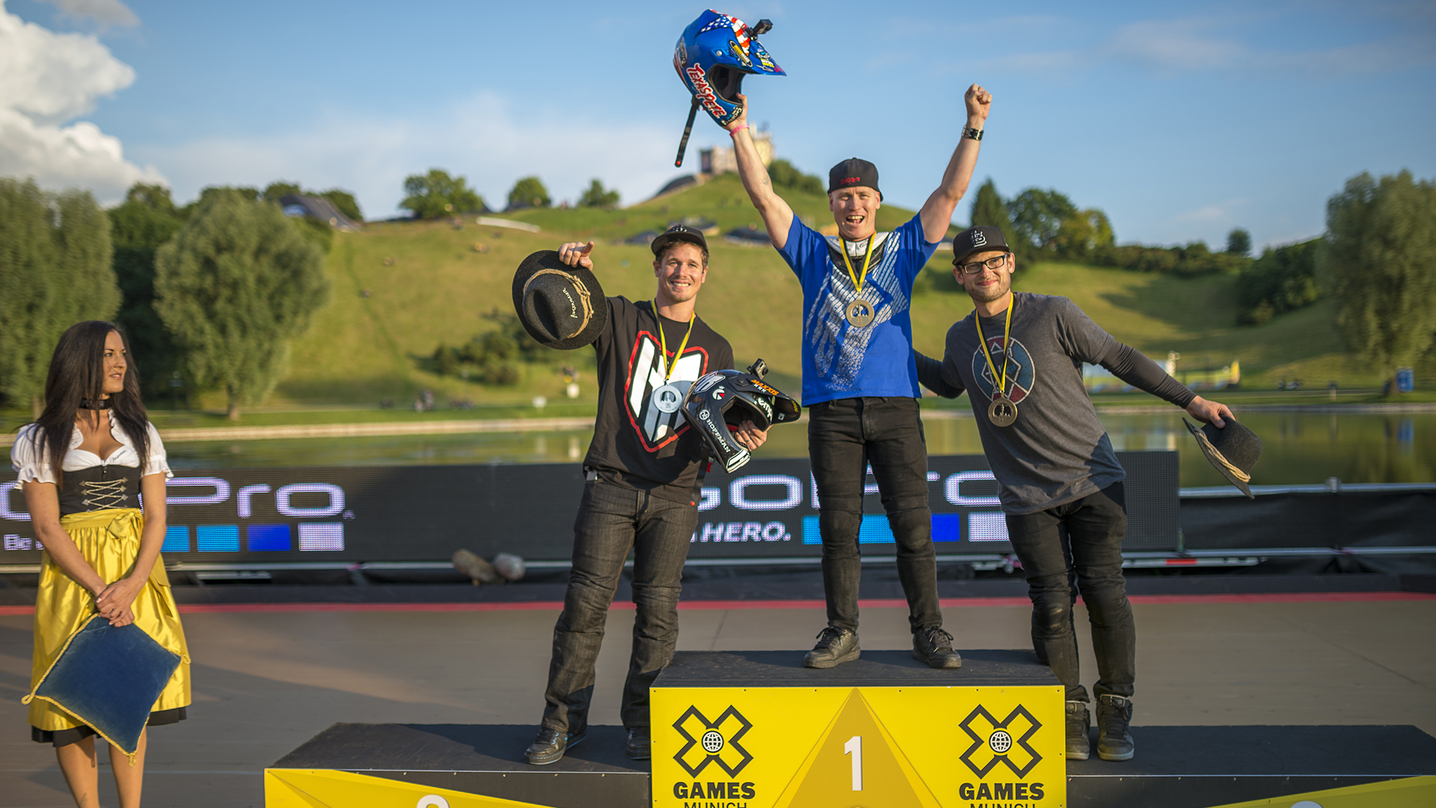 Chad Kagy wins BMX Big Air