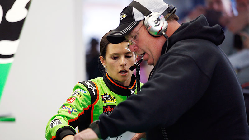 As an old-school NASCAR guy, Tony Gibson is well aware of history. As Danica Patrick's crew chief, he could be part of it.