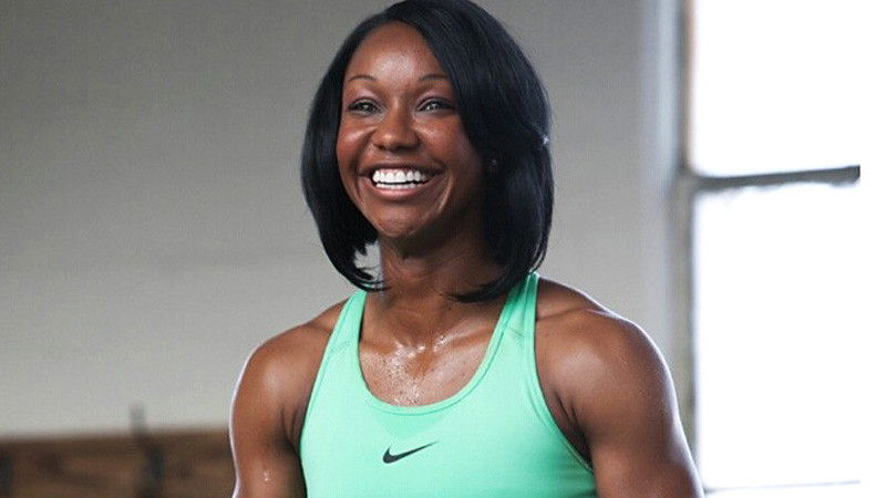 After two successful trial runs on her rehabbed leg in the 200, Carmelita Jeter is ready to give the 100 meters a go.
