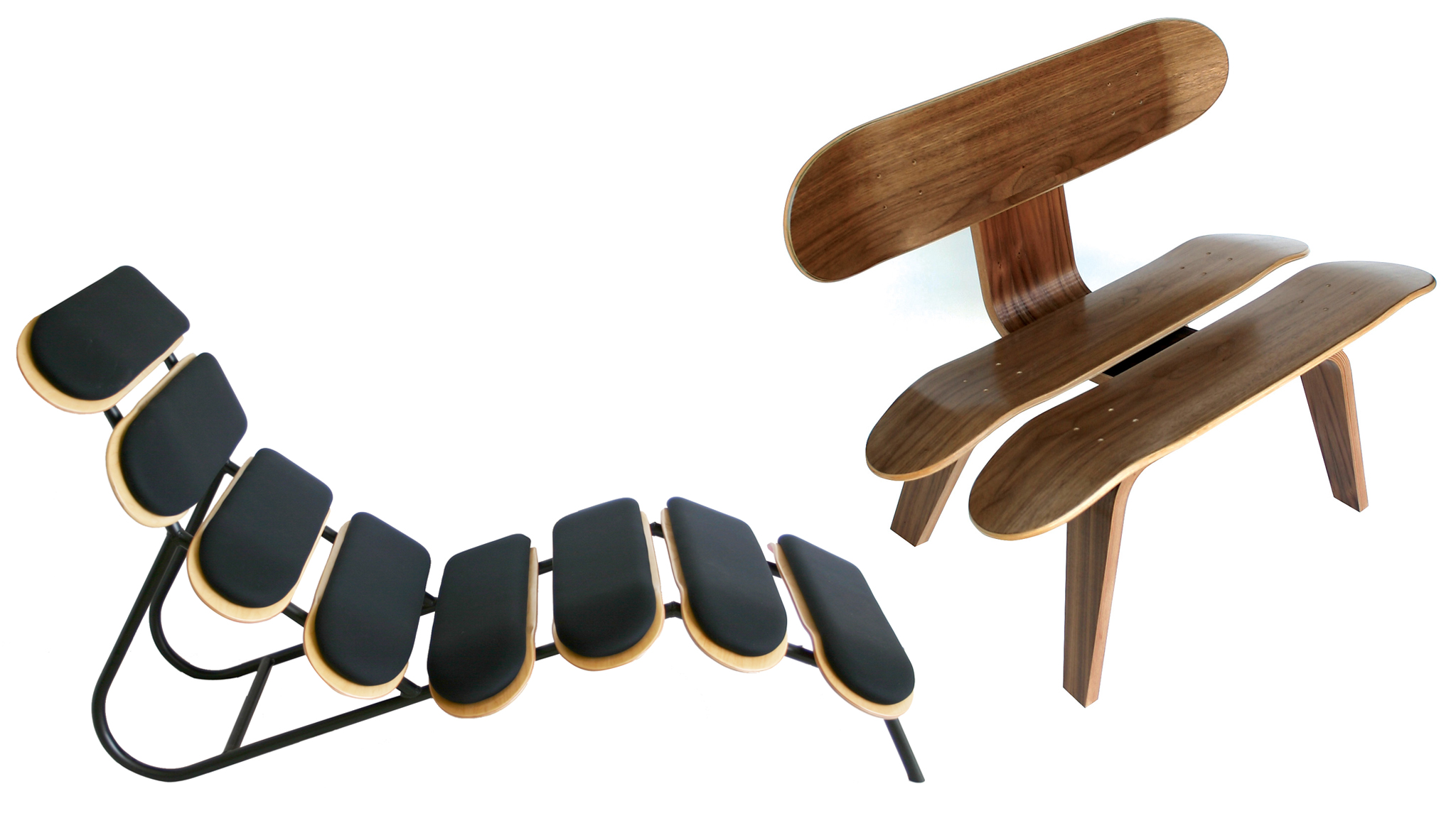 Mid-Century Skate Furniture