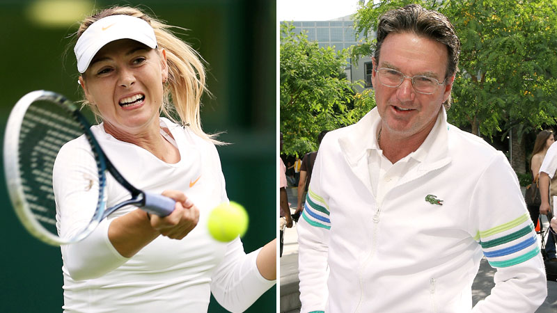 Maria Sharapova, Jimmy Connors