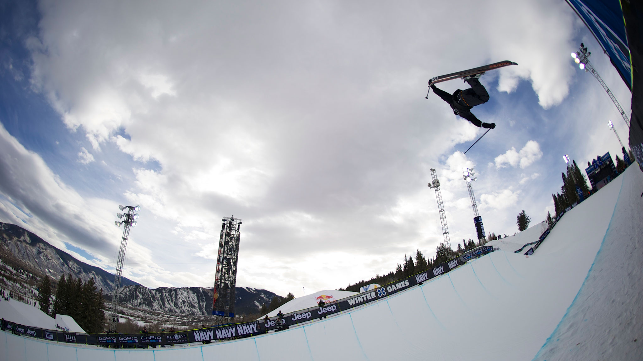 Canadian halfpipe skier Noah Bowman had a breakout year in 2012 with a silver medal at X Games Aspen.