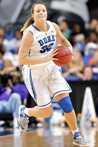 Tricia Liston hit 44.8 percent of her 3-point attempts during her first three years at Duke.