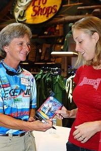 Pam Martin-Wells hopes to create more opportunities for young women to become competitive anglers.