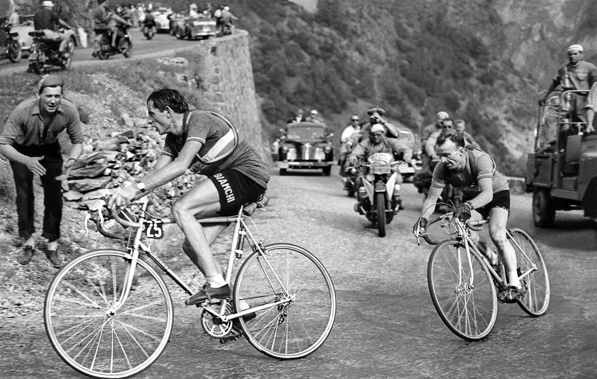 Fausto Coppi and Jean Robic