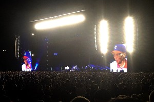 Pearl Jam's first-ever concert at Wrigley wouldn't have been complete without Mr. Cub, Ernie Banks.