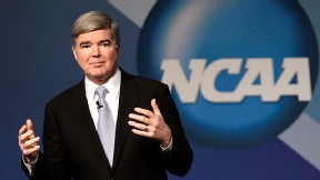 NCAA president Mark Emmert says that players should be allowed to enter the NBA right out of high school: It's illogical to force someone to go to college when they want to do something else.