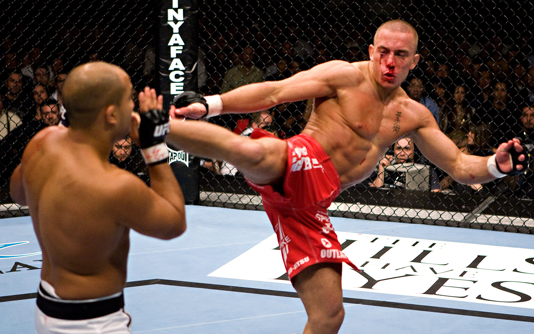 BJ Penn vs Georges St-Pierre