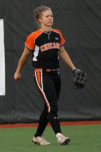Megan Wiggins also plays in the Japanese professional league, part of her goal of attempting to become the world's best player.