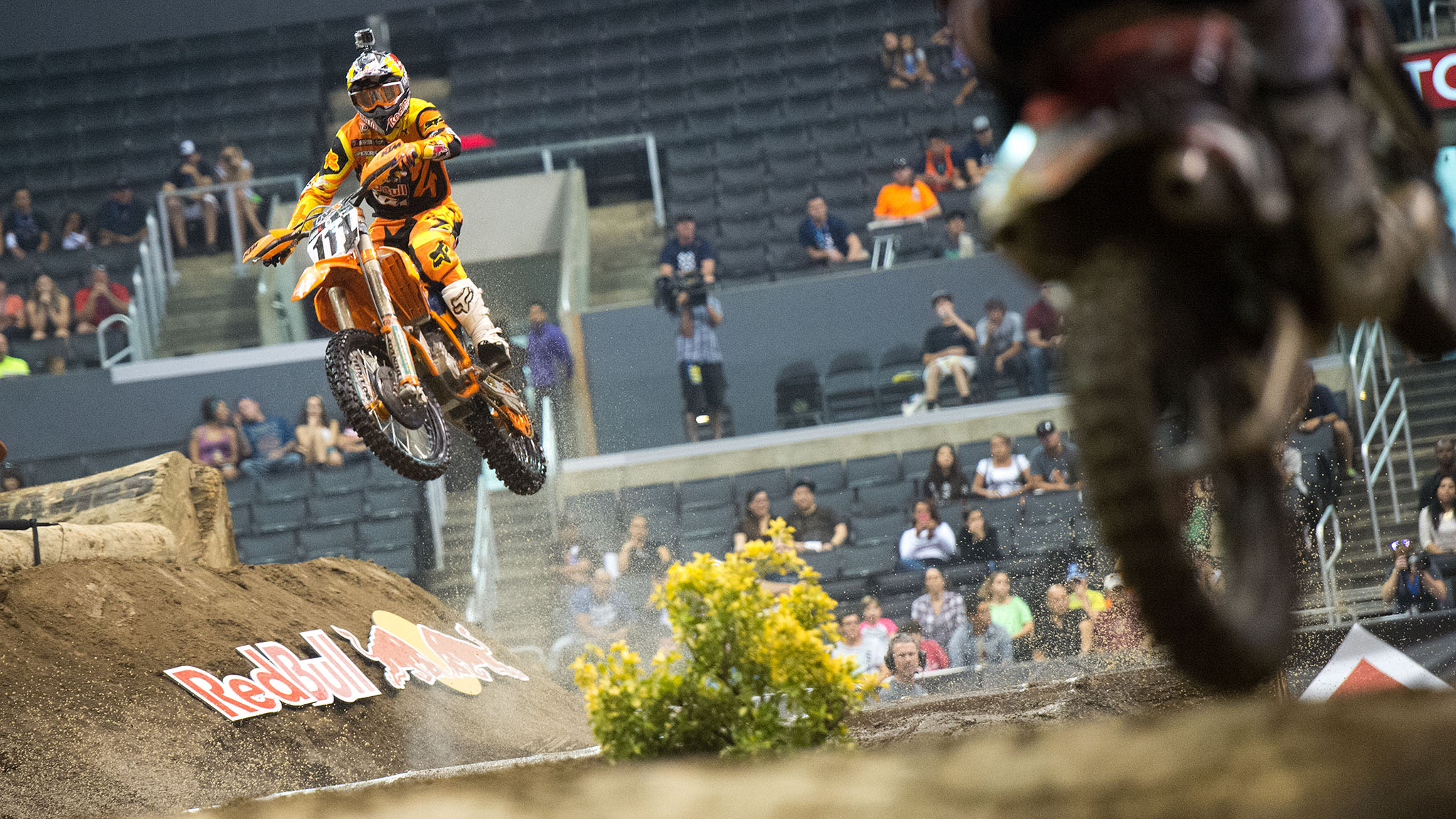 Taddy Blazusiak took gold again in Men's Enduro X on the last day of X Games Los Angeles.