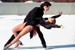 Brian Boitano and Katarina Witt toured together in the United States after the 1988 Olympics.