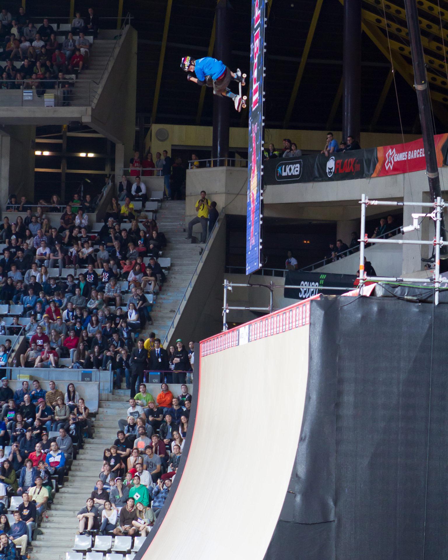 Mitchie Brusco -- Skateboard Big Air