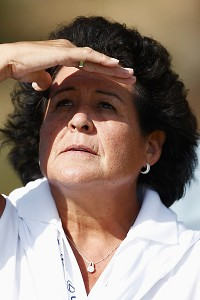 Hall of Famer Nancy Lopez has been a mentor and role model for Lizette Salas.