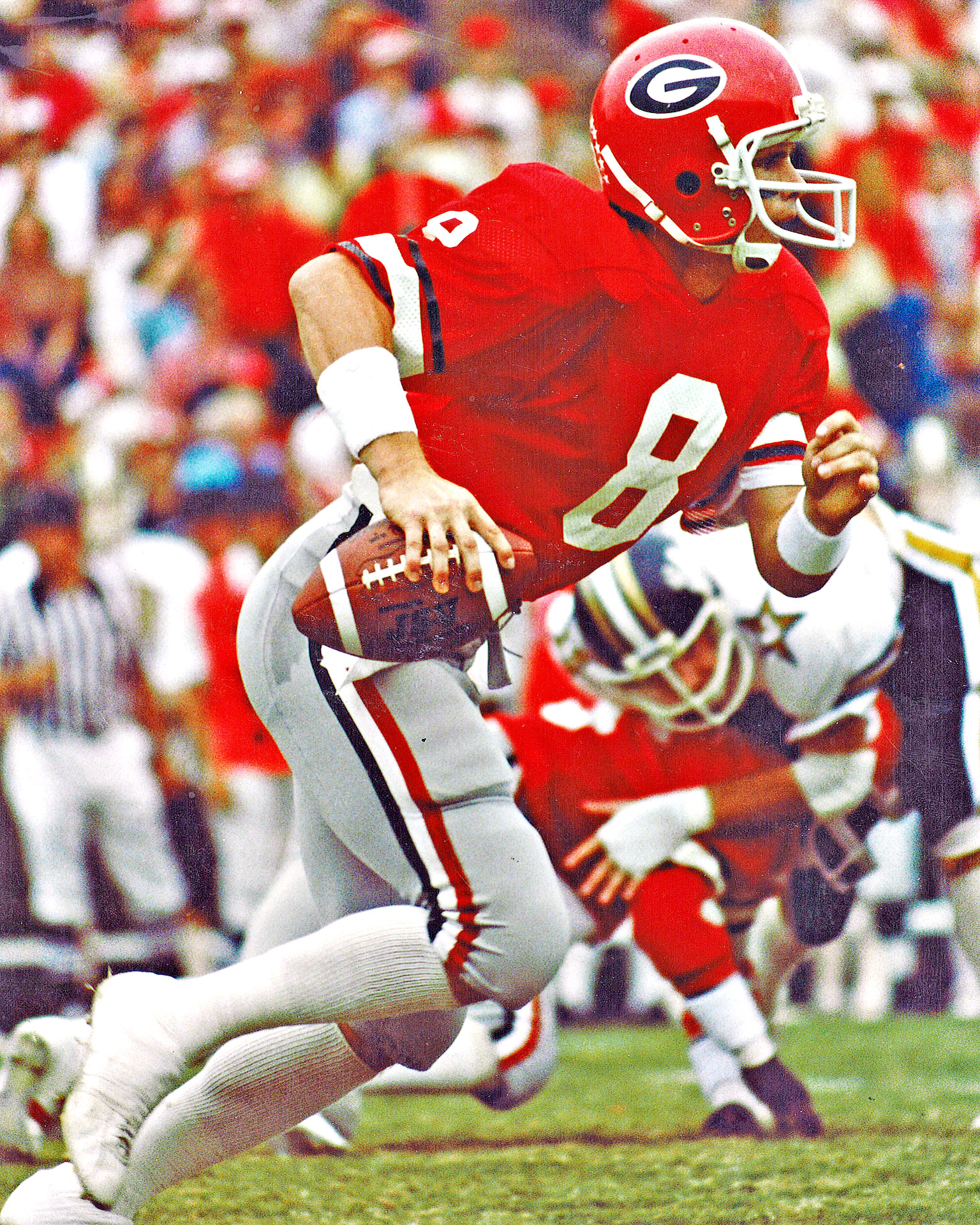 1980 Georgia home red