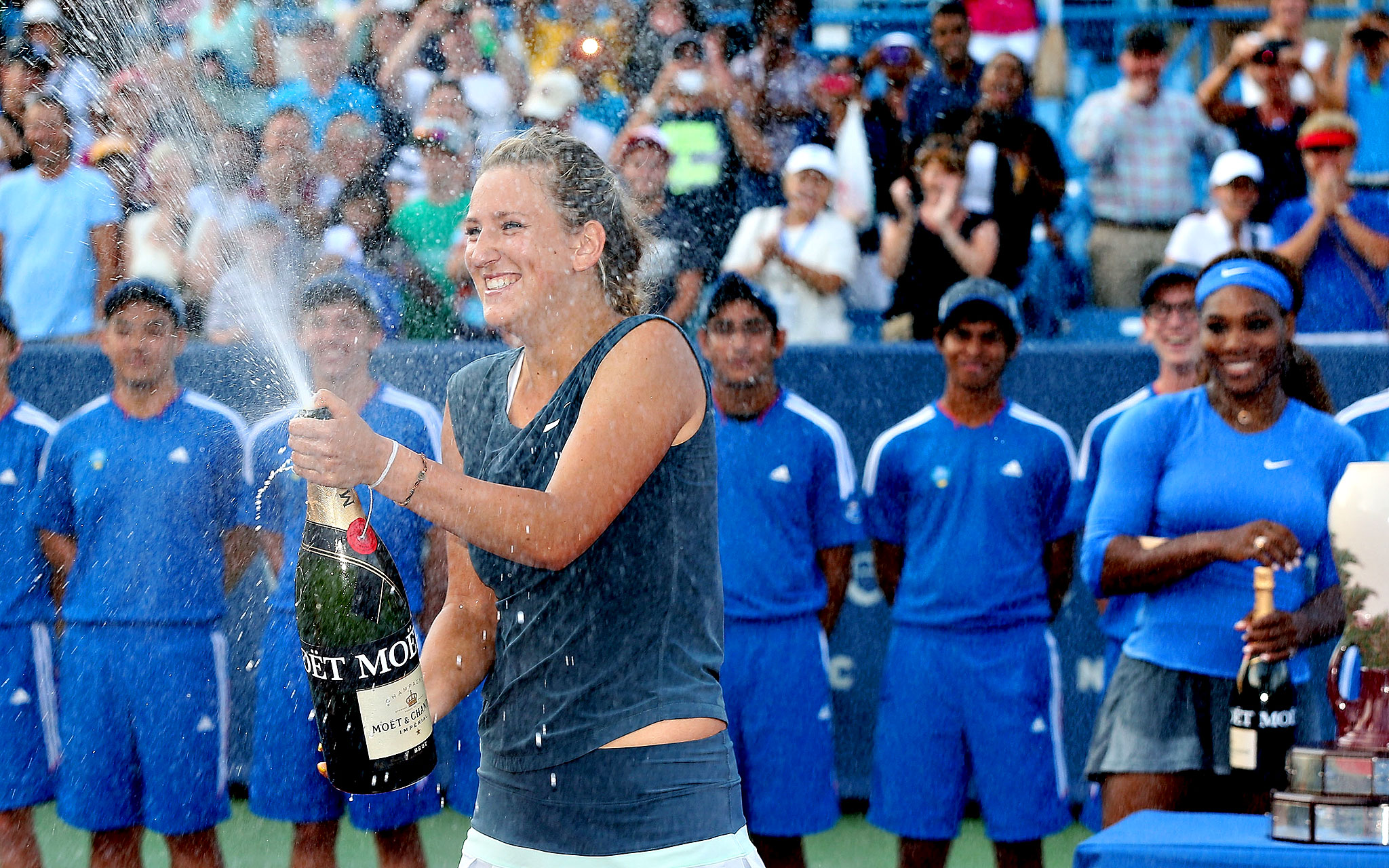 Vika's Victory Shower