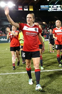 Rachel Buehler has appreciated the overwhelming support from Portland Thorns fans this season.
