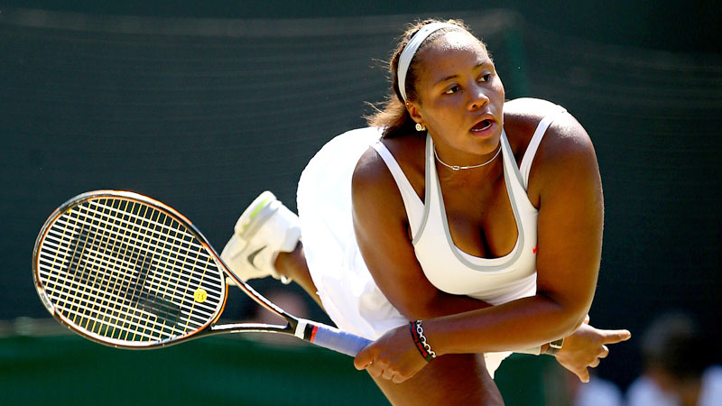 Taylor Townsend, who turned pro before the 2013 season, says the only thing about tennis that she doesn't love is losing.