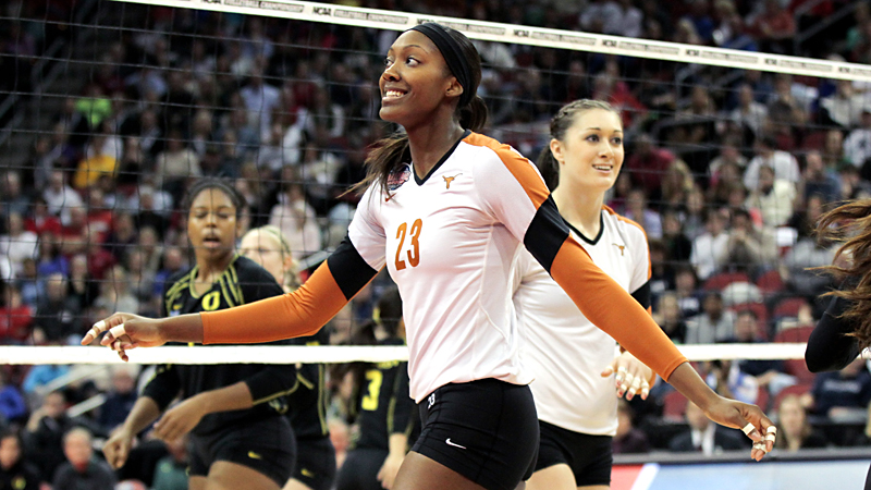 Outside hitter Bailey Webster and Texas are looking for their second straight NCAA title and have the top spot in our first power rankings of the season.