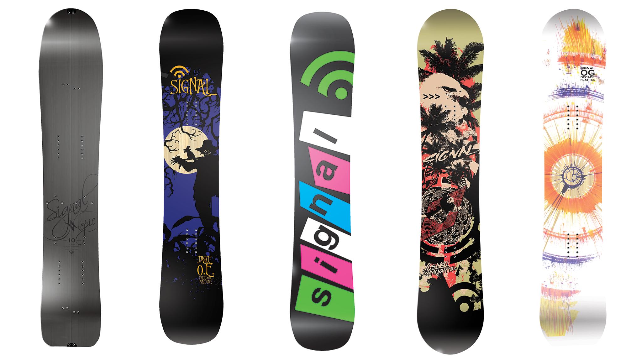 Signal Snowboards -- California