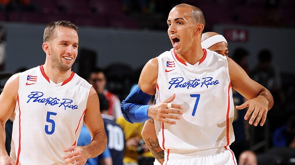 J.J. Barea and Carlos Arroyo are hoping to lead Puerto Rico to a trip to the 2014 World Cup in Spain.