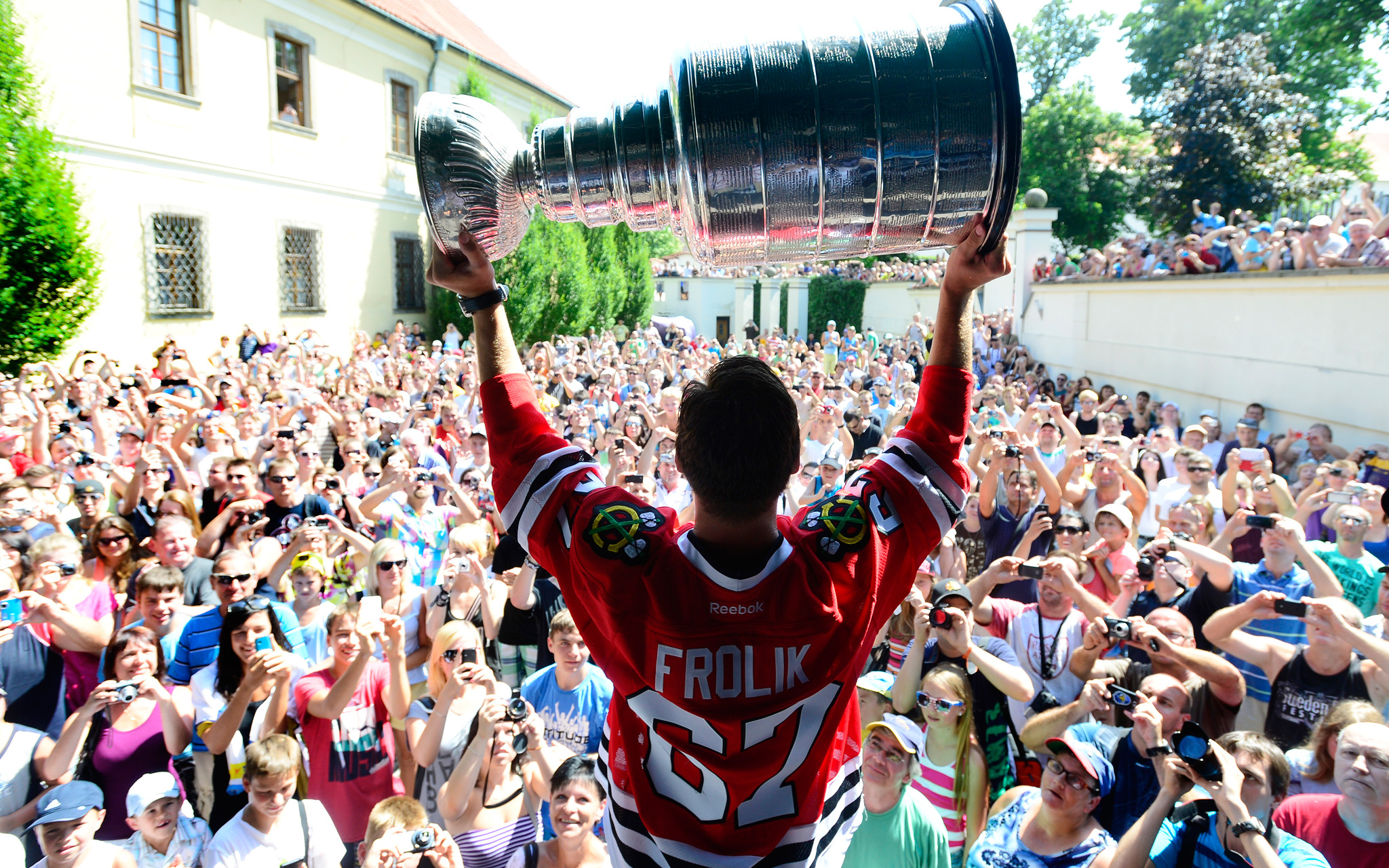 Summer with the Cup