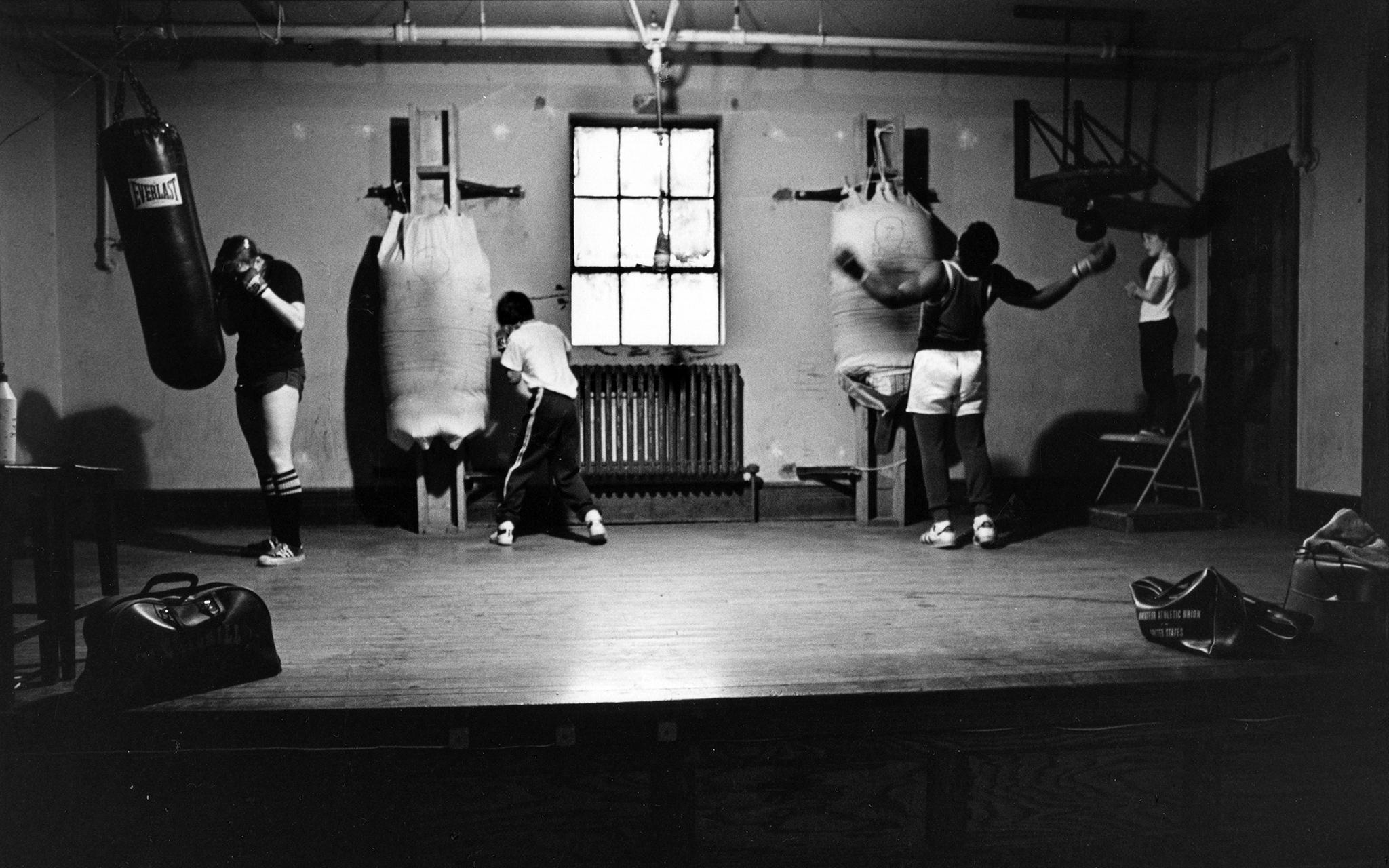 Cus D' Amato's Gym, Catskill, N.Y.