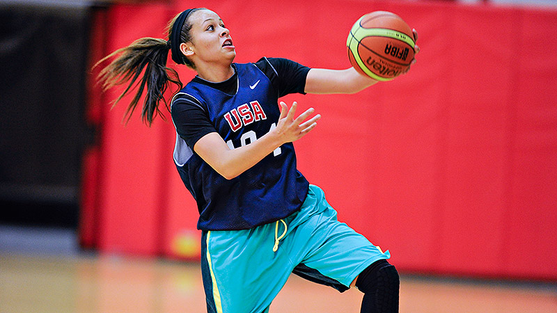 Chelsea Dungee, a 5-foot-11 shooting guard who is headed to Oklahoma, is one of the top prospects in the 2016 class.