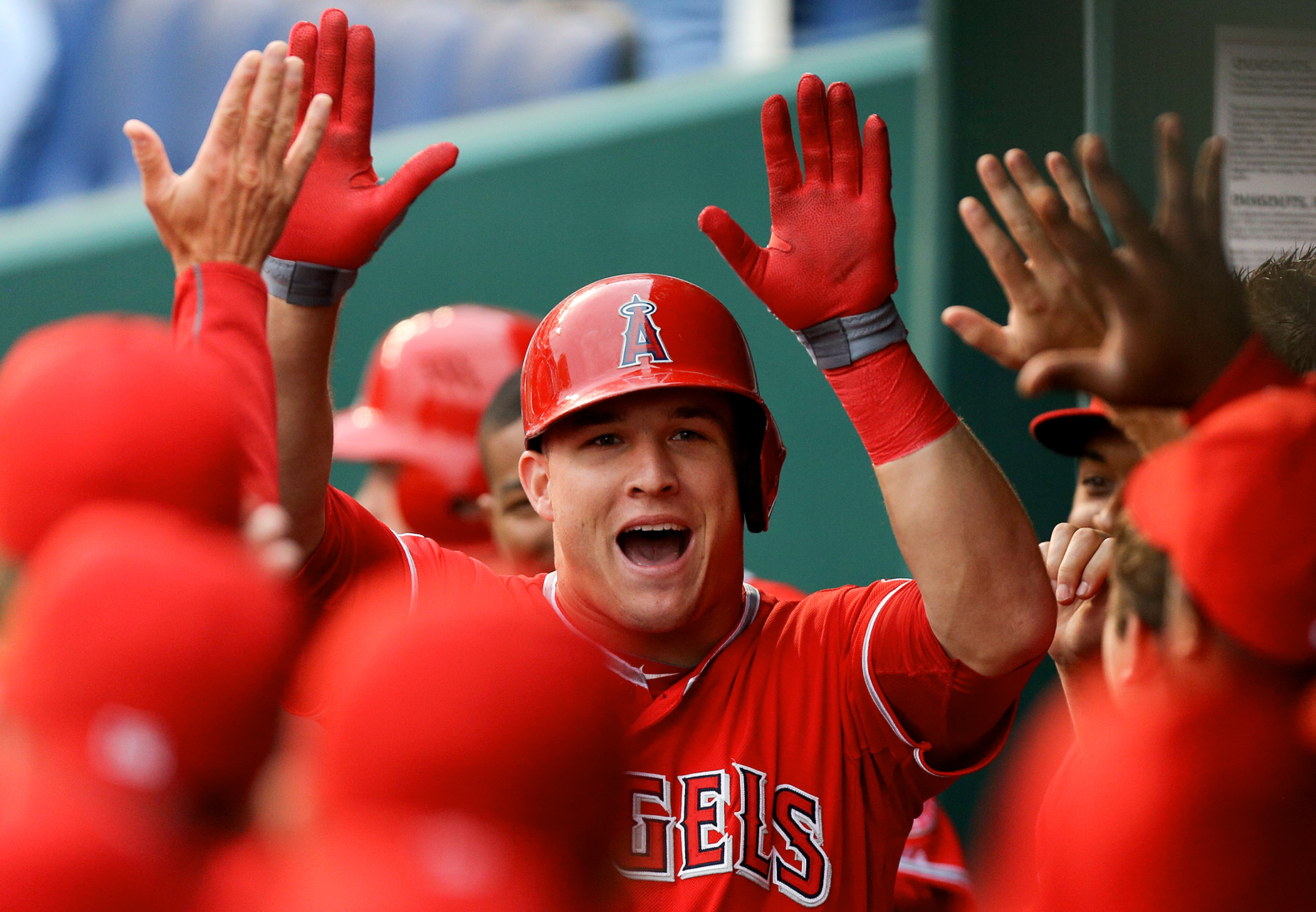 4. Mike Trout, Angels -3 percent