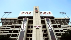 Texas A&M has announced plans for a 450 million renovation of Kyle Field. The stadium's capacity will grow to 102,500 when the project is completed in 2015.