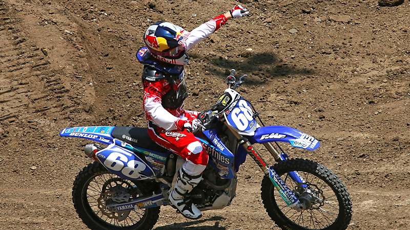 Tarah Gieger won the first gold medal in X Games history in womens Supercross back in 2008.