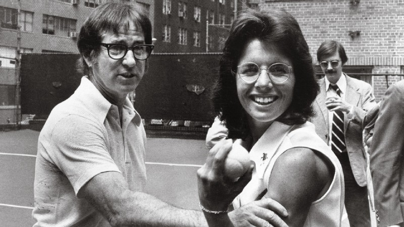 Billie Jean King beat Bobby Riggs 6-4, 6-3, 6-3 in the famed match.