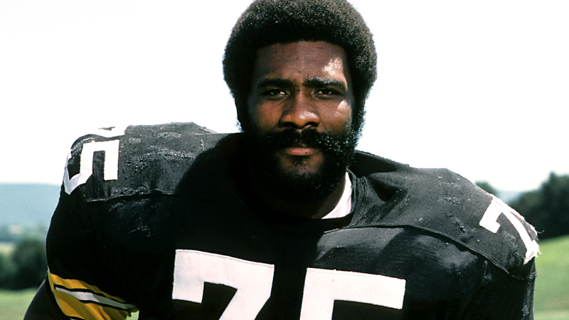 Mean Joe Greene's popularity soared after his commercial for Coke ran while he played for Pittsburgh in the 1980 Super Bowl.