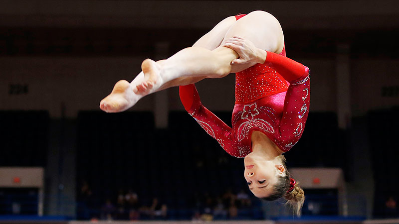 McKayla Maroney is one of three U.S. gymnasts competing for two spots in the world championships all-around finals.