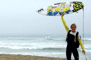 Courtney Conlogue will conclude her 2013 surfing season this week at the EDP Cascais Girls Pro in Portugal.
