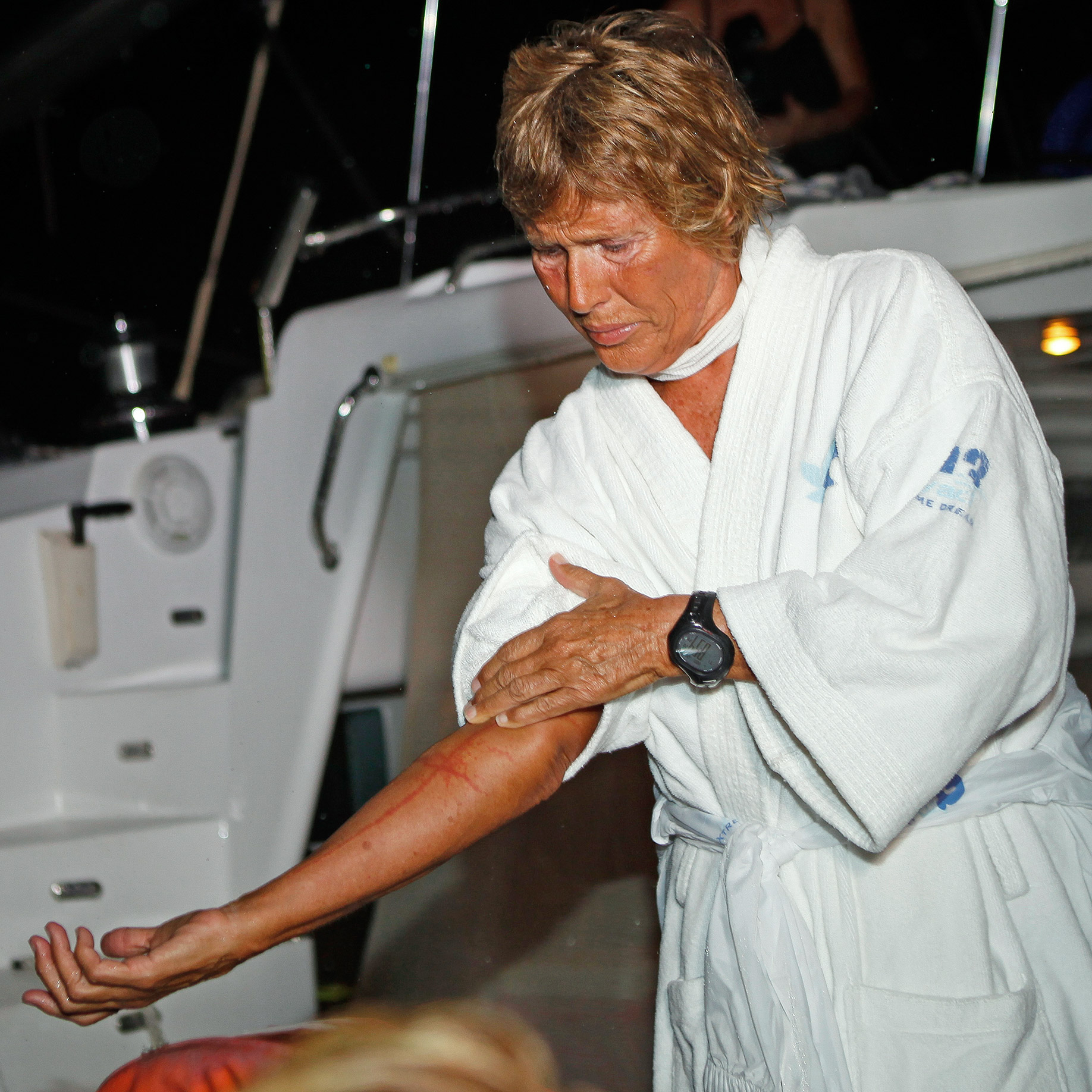 It was jellyfish, not sharks, that foiled Diana Nyad's plans on her third attempt at the 110-mile swim.