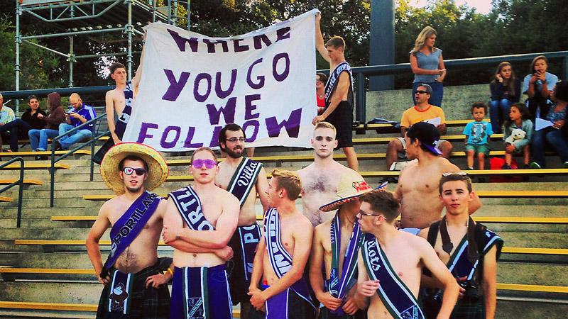 Portland soccer fans